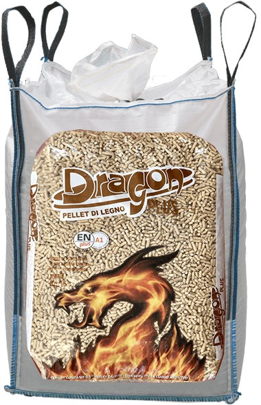 Ingrosso pellet Trentino Alto Adige Dragon Plus Big Bag