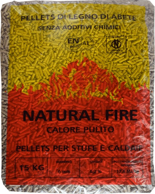 Ingrosso pellet Umbria Natural Fire