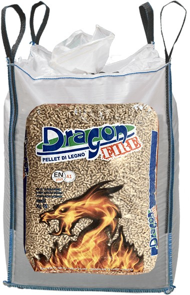 Ingrosso pellet Umbria Dragon Fire Big Bag