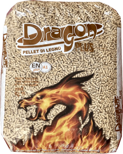 Ingrosso pellet Umbria DRAGON plus